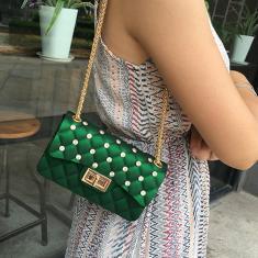Imagem de Pvc Feminino Luxo Bag Mulheres Bandoleira Bolsas de Ombro Messenger Bags Menina pequenaMundo Colorido