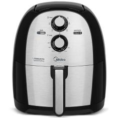 Imagem de Fritadeira Elétrica Sem óleo Midea FRA50S Capacidade 5,5l Inox