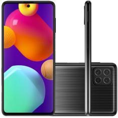 Smartphone Samsung Galaxy M62 SM-M625F 128GB Android Câmera Quádrupla 2 Chips