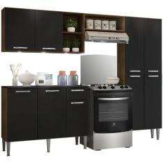 Imagem de Cozinha Compacta 1 Gaveta 9 Portas Pequim Multimóveis