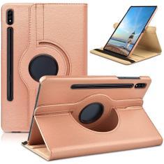Imagem de Capa de couro flip giratória de 360 graus para Samsung Galaxy Tab S7 11inch SM-T870 SM-T875 SM-T876 Tablet Funda Capa Capa
