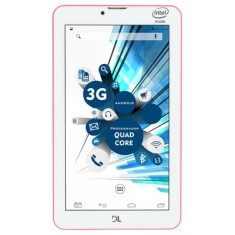 "Tablet DL Eletrônicos SocialPhone 700 8GB 3G 7"" Android 5.1 (Lollipop)"