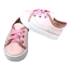Imagem de Sapato Tênis Menina Bebê Kids Infantil Baby Recém-nascido