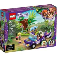 Imagem de Lego 41421 Friends Resgate Na Selva Do Filhote De Elefante 203 peças
