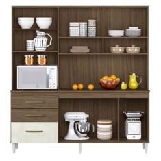 Imagem de Cozinha Compacta 3 Gavetas 5 Portas Lory Aramóveis