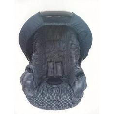 Imagem de Capa para Bebe Conforto, Multimarcas sem Bordado, Alan Pierre Baby, Marinho e Poá