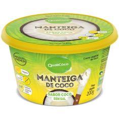 Imagem de Manteiga de Coco Qualicoco 200g Natural