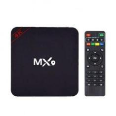 Imagem de TV Bo-x Mx 9 4K Smart Android 10.1 Ultra Hd com Teclado de Led - America