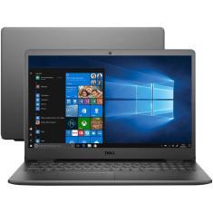 """Notebook Dell Inspiron 3000 i15-3501-A20P Intel Core i3 1005G1 15,6"""" 4GB SSD 128 GB 10ª Geração"""