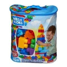 Imagem de Mega Bloks Sacola De 80 Blocos Dch63 - Mattel