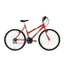 Bicicleta Track & Bikes 18 Marchas Aro 26 Freio V-Brake Serena