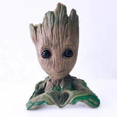 Imagem de Baby Groot Vaso Porta Objetos Marvel 15cm