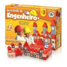 Imagem de Brincando De Engenheiro 73 Peças - Xalingo