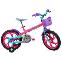 Bicicleta Caloi Barbie Aro 16 2020