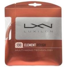 Imagem de Corda Luxilon Element Rough 17L 1.30mm Marrom - Set Individual