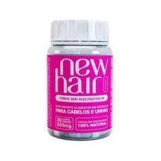 New Hair Caps Crescimento Capilar E Unhas 30 Capsulas