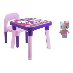 Imagem de Hello Kitty - Mesinha C/ Cadeirinha E Boneca