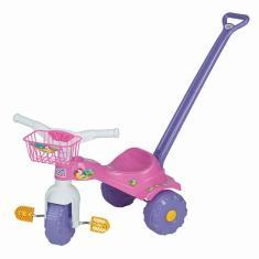 Imagem de Triciclo com Pedal Magic Toys Tico-Tico Sereia