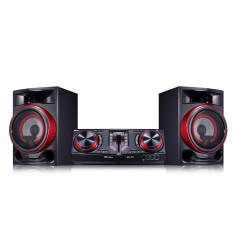 Mini System LG CJ87 1.800 Watts Karaokê Bluetooth USB