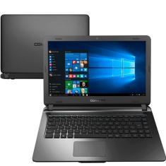 "Notebook Compaq Presario CQ21 Intel Core i3 5005U 14"" 4GB SSD 120 GB 5ª Geração Windows 10"