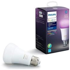 Imagem de Philips Hue White & Color Ambiance Lâmpada base E27  - Iluminação Inteligente Controlada Por Wifi E Bluetooth, Compatível Com Amazon Alexa