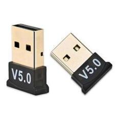 Imagem de Adaptador Usb Bluetooth 5.0 Dongle Para Pc Notebook