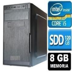 Imagem de Cpu Intel Core I5 8gb SSD 120gb *10x mais rápido*