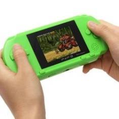 Imagem de Handheld Game Console 16 Bit Classic Game port¨¢til Console de Jogos do Jogador LCD