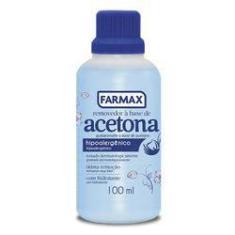 Imagem de Removedor à Base de Acetona Farmax 100 ml