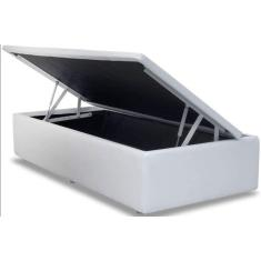 Imagem de Cama Box Baú Solteiro Corino 88cm AColchões