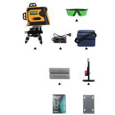 Imagem de 12Lines Nível Laser Range Finder auto-nivelamento 360 Linha poderoso raio laser-Compra internacional pode ser cobrada imposto