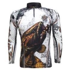 Imagem de Camiseta de Pesca Proteção Solar UV King Trairão KFF300
