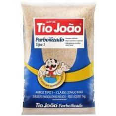 Imagem de Arroz Tio João Parbolizado Tipo 1 Pacote 1kg