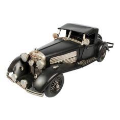 Imagem de Miniatura De Metal Retrô Mercedes Benz 500k Black
