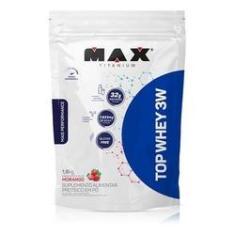 Whey Protein Isolado Concentr Max Titanium Top Whey 3w 1,8k