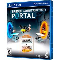 Jogo BRIDGE CONSTRUCTOR PORTAL PS4 Clock