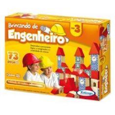 Imagem de Brincando De Engenheiro 3 C/73 Pcs Xalingo
