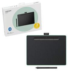 Mesa Digitalizadora Wacom Média Bluetooth Verde Intuos - CTL6100WLE0