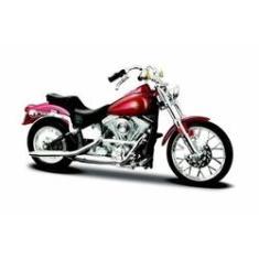 Imagem de Miniatura Harley Davidson Fxst Softail 1984 1:18 Maisto