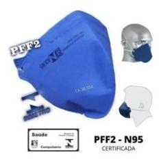 Imagem de Mascara Protetora Respirador Descartável PFF2 N95 Deltaplus