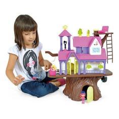 Imagem de Brinquedo Casinha Na Arvore 3901 Homeplay Com Bonequinhos