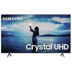 "Smart TV LED 75"" Samsung Crystal 4K HDR UN75TU7020GXZD"