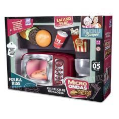 Imagem de Micro Ondas Sandwich Chef Cozinha Kids Zuca Toys