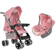 Imagem de Carrinho de Bebe Thor  Coroa com Bebe Conforto Tutti Baby