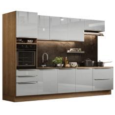 Imagem de Cozinha Completa 5 Gavetas 8 Portas Lux 320004 Madesa