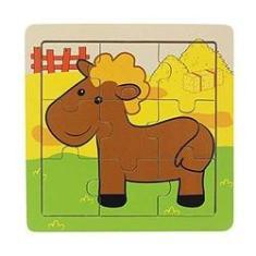 Imagem de Quebra-Cabeça | Cavalo (9 Peças)