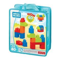 Imagem de Bolsa Mega Bloks 40 Pçs Fisher-price