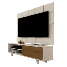 Imagem de Painel Para TV JB 5095 e Bancada JB 5959 Perola/Caramelo - JB Bechara