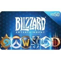 Imagem de Gift Card Digital Blizzard R$ 50