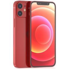 Imagem de Smartphone Apple iPhone 12 Vermelho 64GB iOS Câmera Dupla